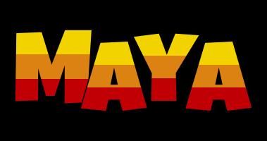 Maya jungle logo