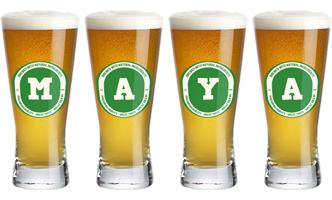Maya lager logo
