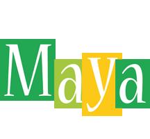 Maya lemonade logo