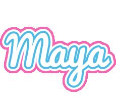 Maya outdoors logo