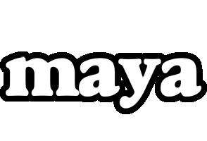 Maya panda logo