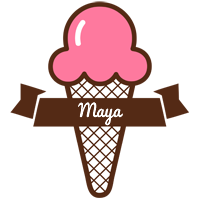 Maya premium logo