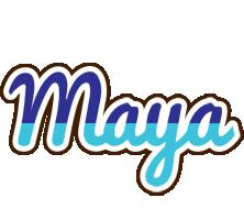 Maya raining logo