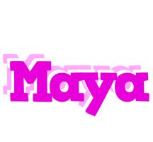 Maya rumba logo