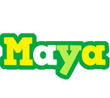 Maya soccer logo