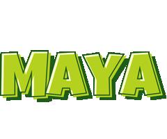 Maya summer logo