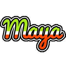 Maya superfun logo