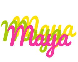 Maya sweets logo