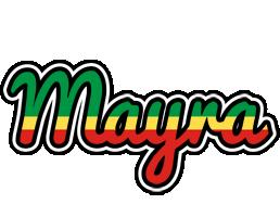 Mayra african logo