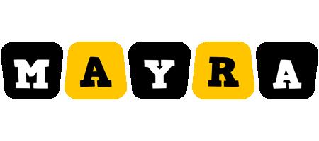 Mayra boots logo