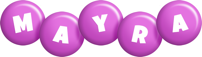 Mayra candy-purple logo