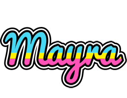 Mayra circus logo