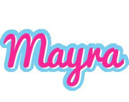 Mayra popstar logo