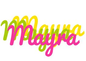 Mayra sweets logo