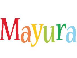 Mayura birthday logo