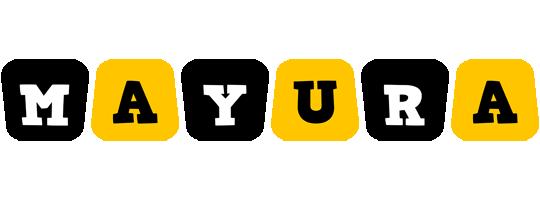 Mayura boots logo