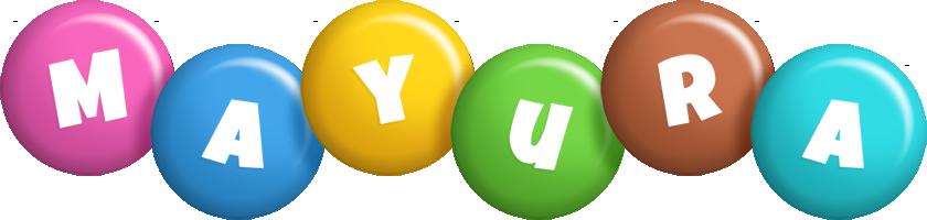Mayura candy logo