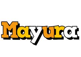 Mayura cartoon logo