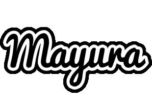 Mayura chess logo