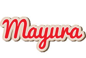 Mayura chocolate logo
