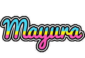 Mayura circus logo