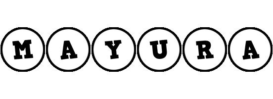 Mayura handy logo
