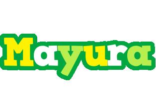 Mayura soccer logo