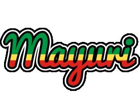 Mayuri african logo