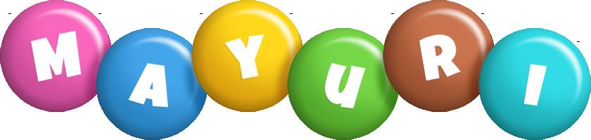 Mayuri candy logo