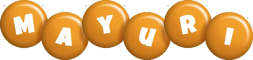 Mayuri candy-orange logo