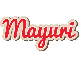 Mayuri chocolate logo