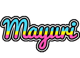 Mayuri circus logo