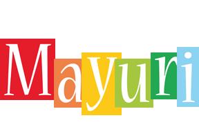 Mayuri colors logo