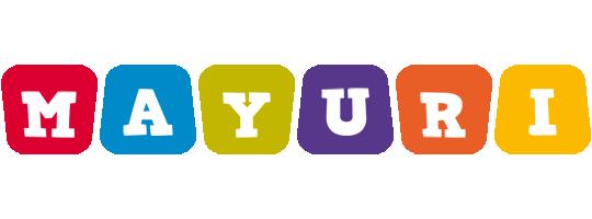 Mayuri daycare logo