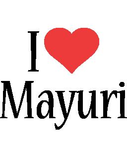 Mayuri i-love logo