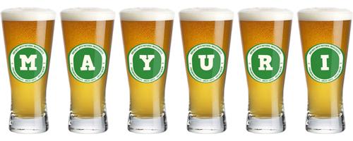 Mayuri lager logo