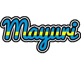 Mayuri sweden logo