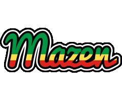 Mazen african logo