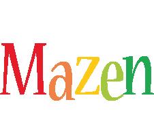Mazen birthday logo