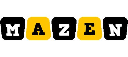 Mazen boots logo