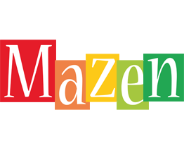 Mazen colors logo