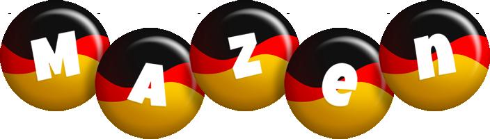 Mazen german logo