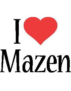 Mazen i-love logo