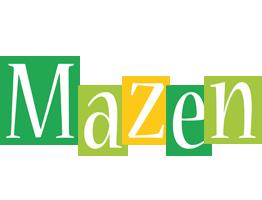 Mazen lemonade logo