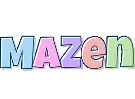 Mazen pastel logo