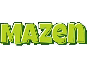 Mazen summer logo