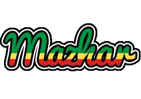 Mazhar african logo