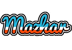 Mazhar america logo