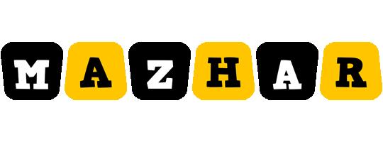 Mazhar boots logo