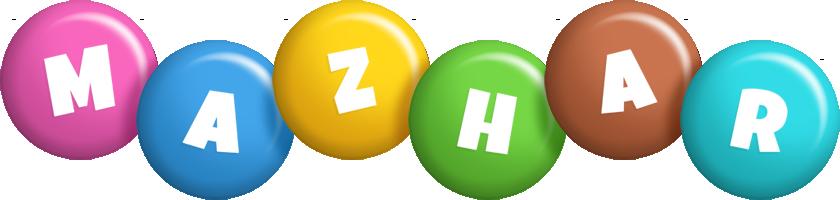 Mazhar candy logo